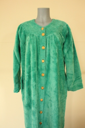 Robes, Dressing Gown, Stan Herman, Cotton Robes, bed jacket